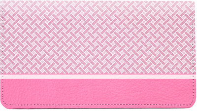Pink Safety Leather Cover