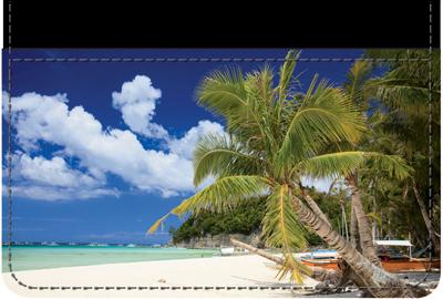 Beachfront Views Debit Wallet