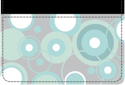 Stylish Patterns Debit Wallet