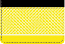 Yellow Safety Debit Caddy