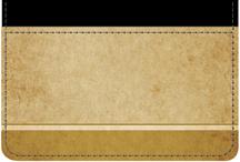 Parchment Debit Caddy