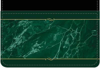 Green Marble Debit Wallet