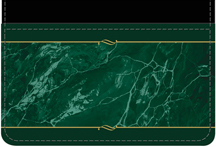 Green Marble Debit Caddy