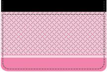 Pink Safety Debit Caddy