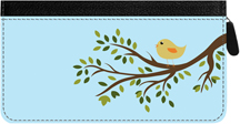 Feathered Friends Zippered Checkbook Cover