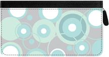 Stylish Patterns Zippered Checkbook Cover
