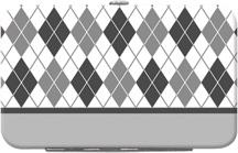 Argyle New Black and White Debit Mini Clutch