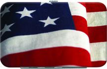 American Pride Debit Mini Clutch