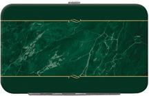 Green Marble Debit Mini Clutch