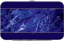 Blue Marble Debit Mini Clutch
