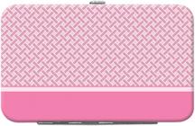 Pink Safety Debit Mini Clutch