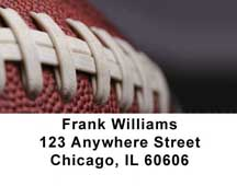 Football Address Labels