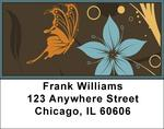 Designer Butterflies Address Labels