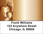 Heart Of Gold Address Labels