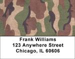 Camouflage - Coral Camos Address Labels