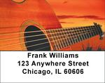 For Guitar Lovers Address Labels