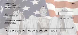 Lincoln Memorial Personal Checks