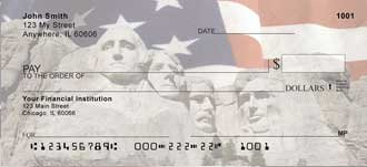 Mount Rushmore Presidents Checks