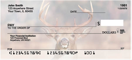 Big Horned Buck Deer Checks