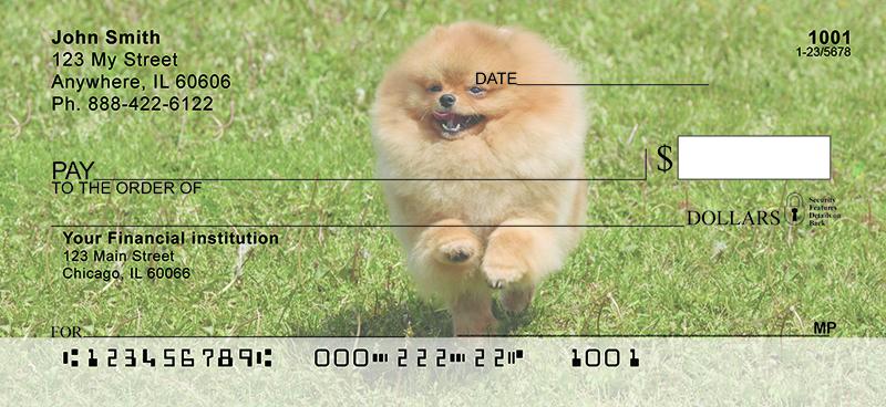 Pomeranian Personal Checks