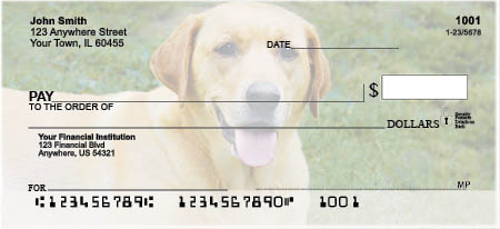 Labrador Retriever Checks - Yellow Labs Checks