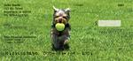 Yorkies at Play Personal Checks $ 12.99