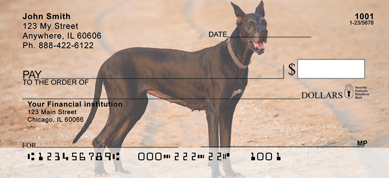 Gigantic Great Danes Personal Checks