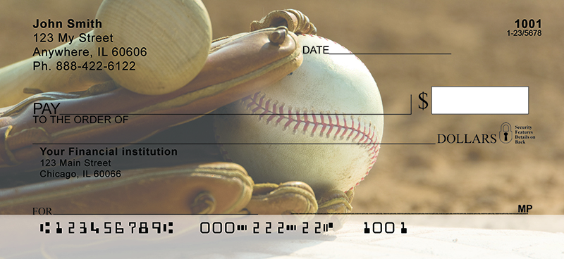 It's all about the Baseball Personal Checks
