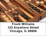 Backgammon Address Labels