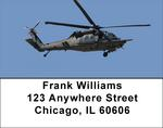 Blackhawk Choppers Address Labels