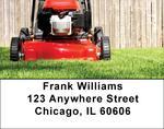 Lawn Mowing Address Labels