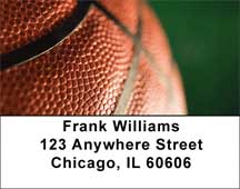 Basketball Address Labels