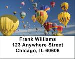 Hot Air Balloons Address Labels