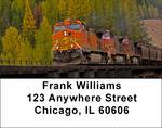 More Diesel Trains Address Labels