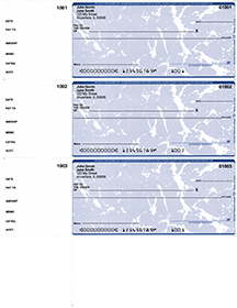 Blue Marble 3 Per Page Wallet Checks $ 22.99