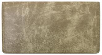 Parchment Vinyl Checkbook Cover