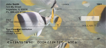 Up Close with Tropical Fish Personal Checks