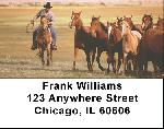 Horse on the Prarie Roundup Address Labels $ 5.99