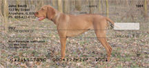 Hungarian Vizsla Personal Checks