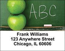 An Apple a Day Address Labels
