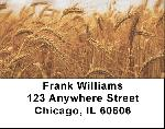 Harvest Time Address Labels