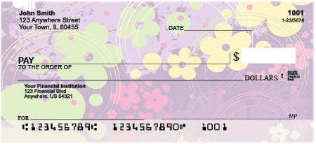 Aloha Flowers Personal Checks
