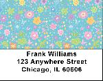 Spring Flowers Address Labels
