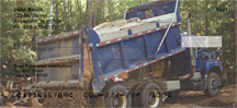 Dump Trucks Personal Checks