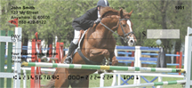 Equestrian Jumping Personal Checks