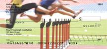 Track Baton Hurdles Personal Checks