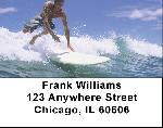 Surfs Up Address Labels