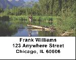 Scenic Fly Fishing Address Labels