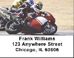 Racing Superbikes Address Labels