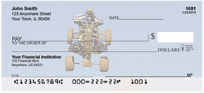ATV Racing Personal Checks